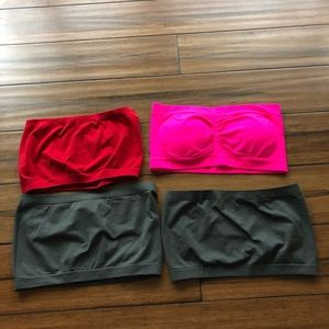 Other - BRAND NEW - Bundle of 4 bandeau